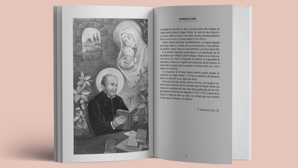 """""""La Virgen María"""" de san Andrés Avelino"""