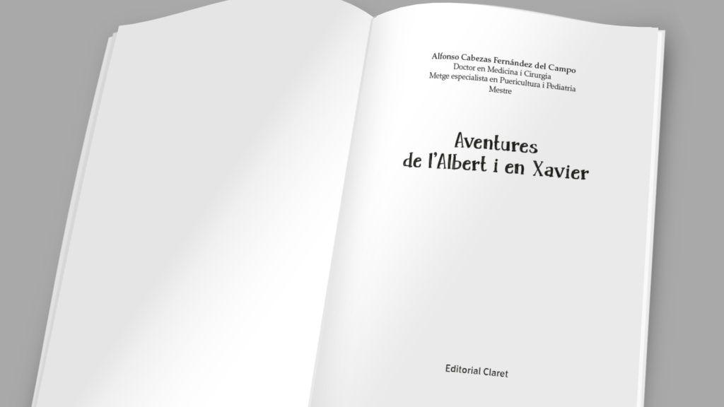 """""""Aventures de l'Albert i en Xavier"""" del Dr. Cabezas"""