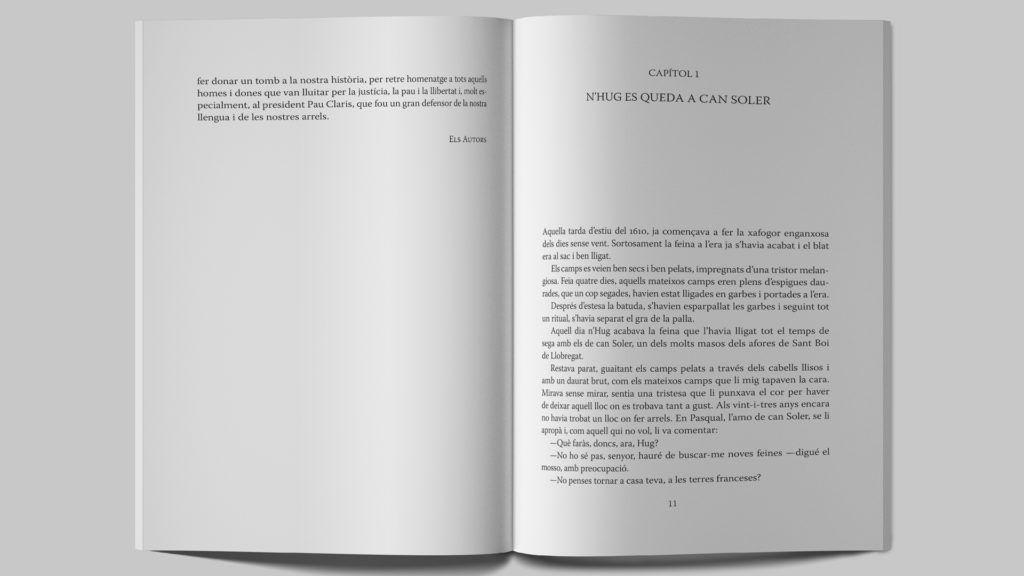"""""""Damià el cartoixà i la guerra dels Segadors"""" de Gisela y Lluís Carbonell."""