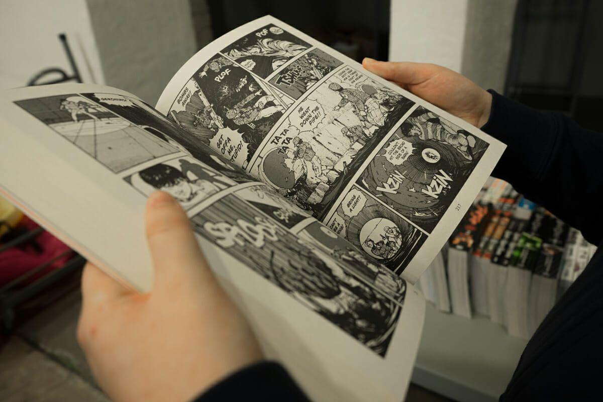 Diseño y edición de cómics