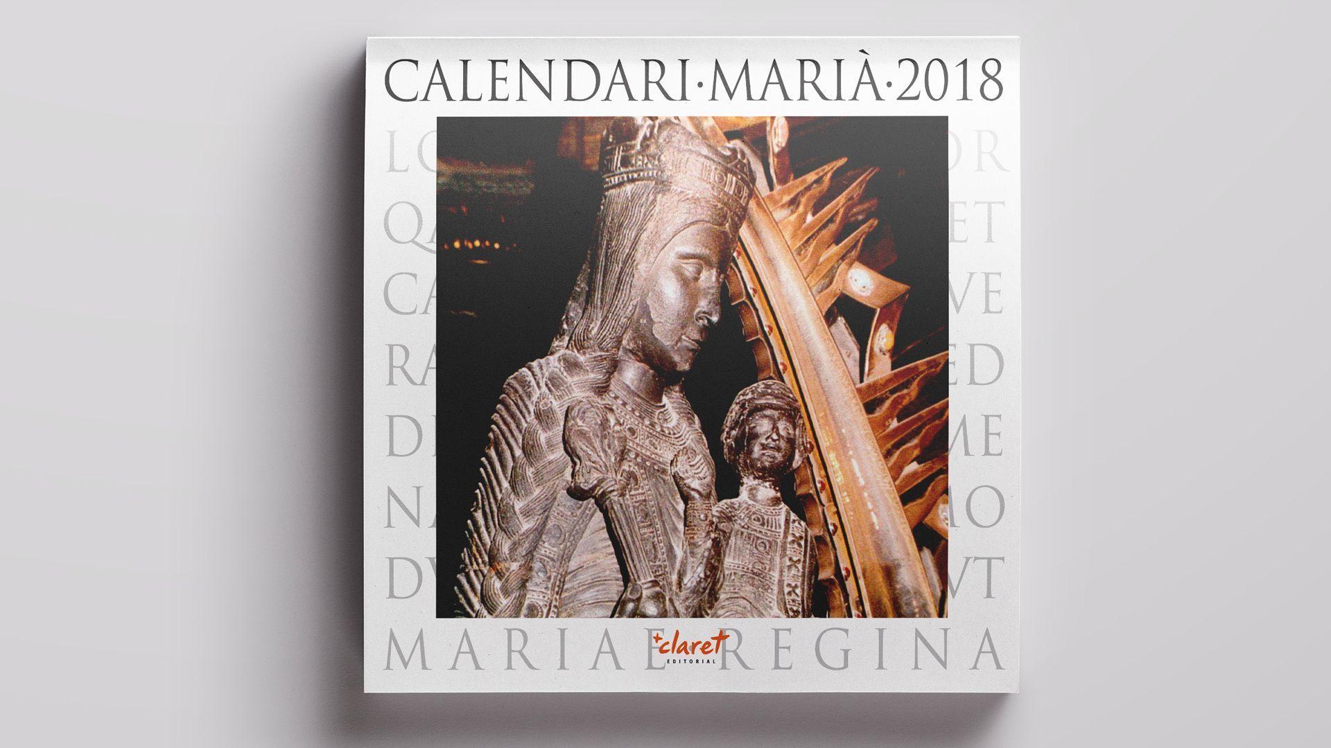 Calendari Mariano 2018 de Editorial Claret