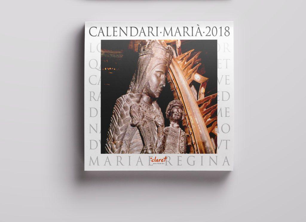 Calendari Maria 2018 de Editorial Claret